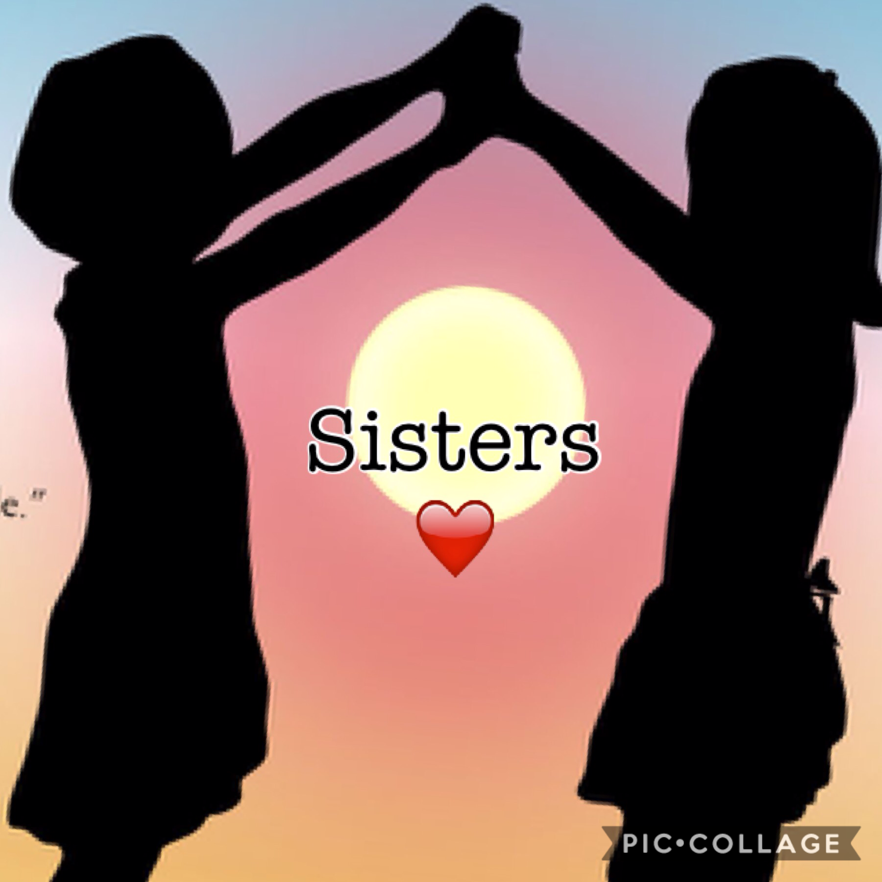 Can't live without a sister😍