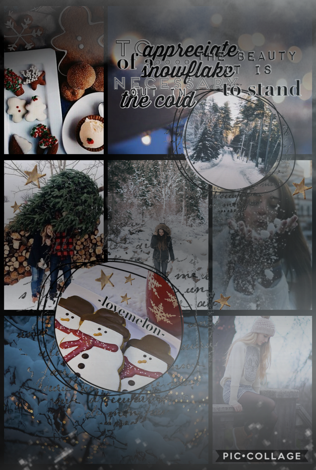 ✰✰✰tap✰✰✰  my first winter collage!! i hope you enjoy!! ❄️🌨🌫  i'm not really sticking with a style, just doing random things.  -lovemelon❤️🍉-