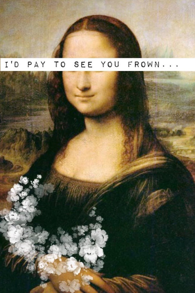 The Ballad Of Mona Lisa😍by P!ATD and don't worry I didn't steal this I am just posting things from my other account🤗😘😍❤️😂😄