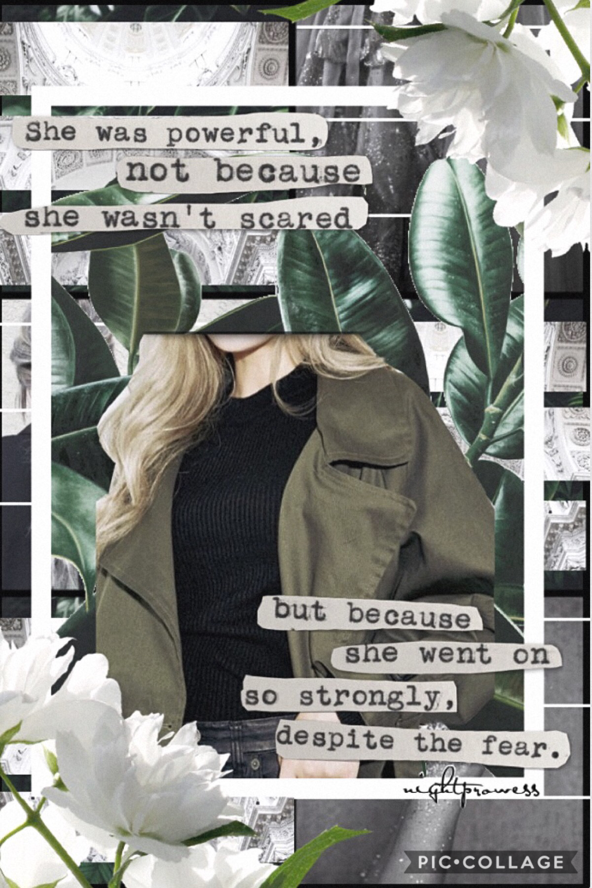 🌿•Tap•🌿 -Inspired By Sal- Oh hey children...guess who's here with a collage. I'm about to get a totally new hairstyle and I'm super nervous. Hehe...all the review acc say I use to much green...sorry.