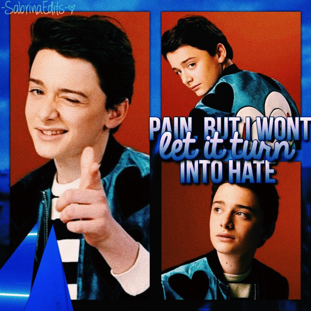 💙 TAP HERE 💙 Here's a little edit i made of my favorite Noah Schnapp! ✨  What do you guys think of it? do you guys like it?  have an amazing day/night! 💛