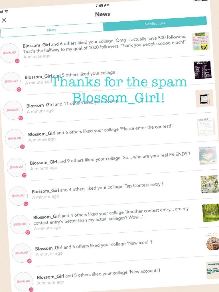 Thanks for the spam Blossom_Girl!