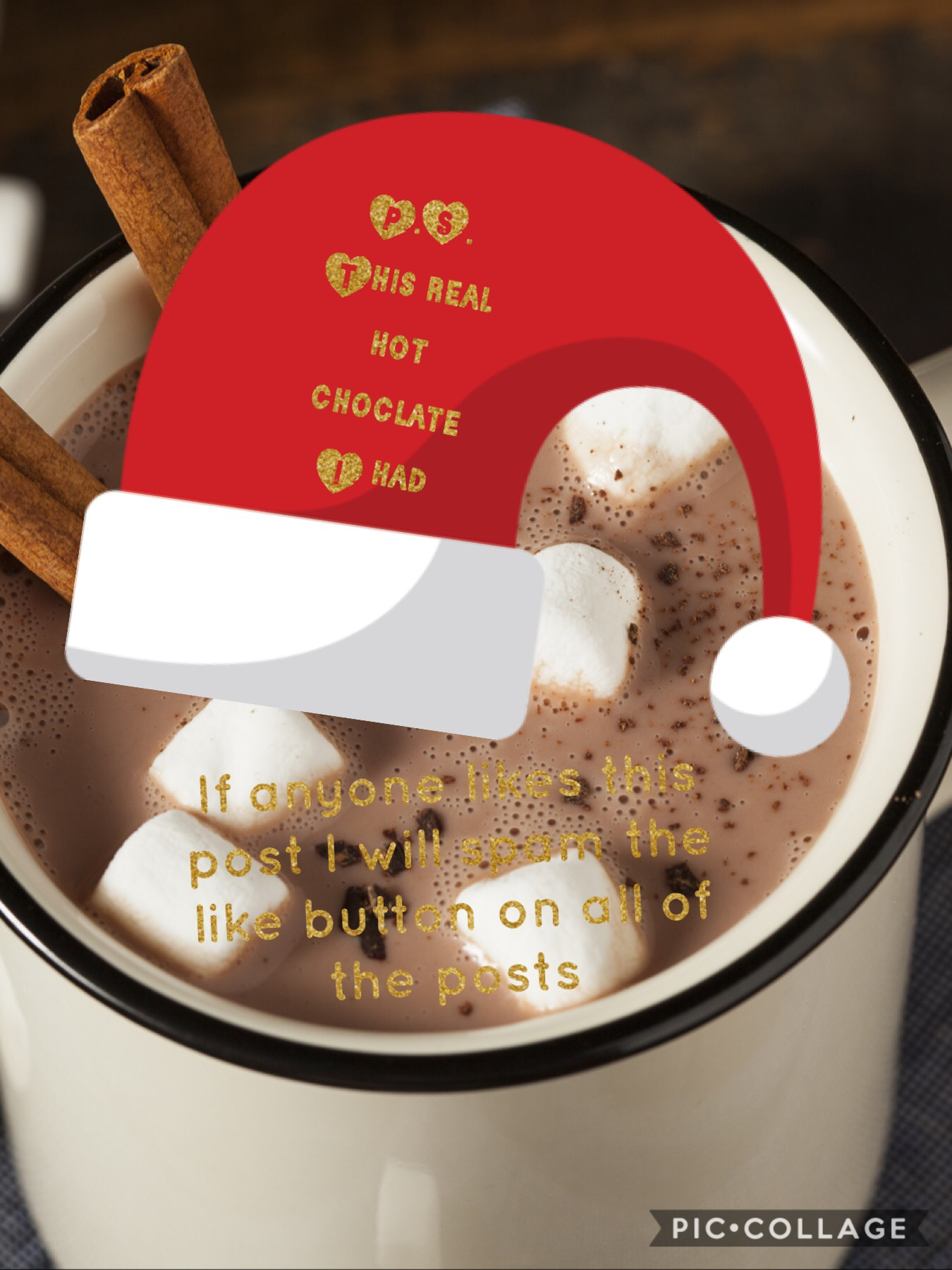 Hot choclate that I had in real life