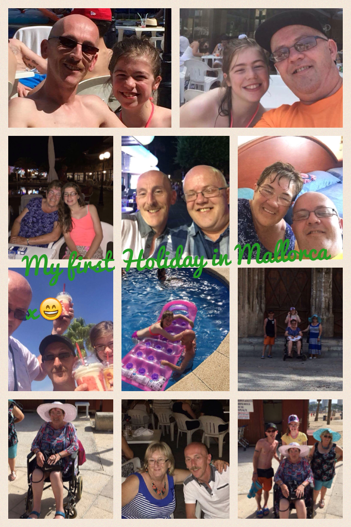 My first Holiday in Mallorca x😄