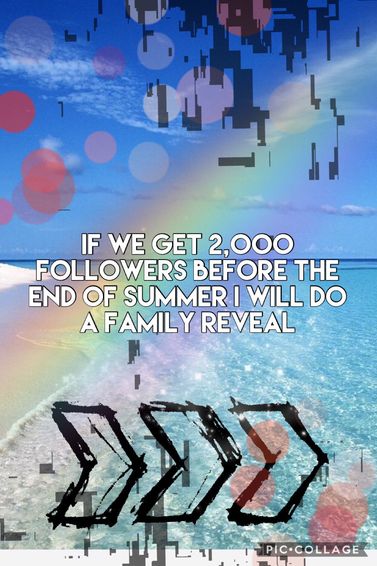 I will do a family reveal if we get to 2,000 followers