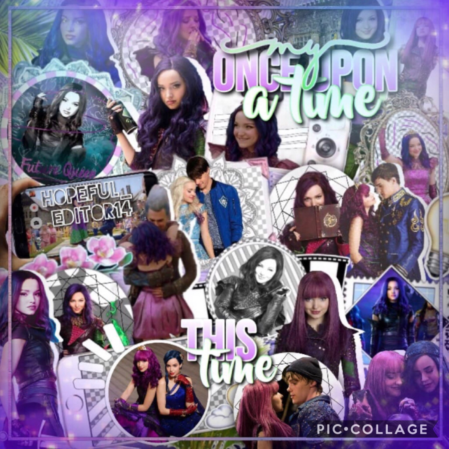I made this for round 3 of Descendants_Queen's contest! I am so incredibly proud of this! What do you think? Please enter my icon contest! I would love some more entries!!! It's due Friday!