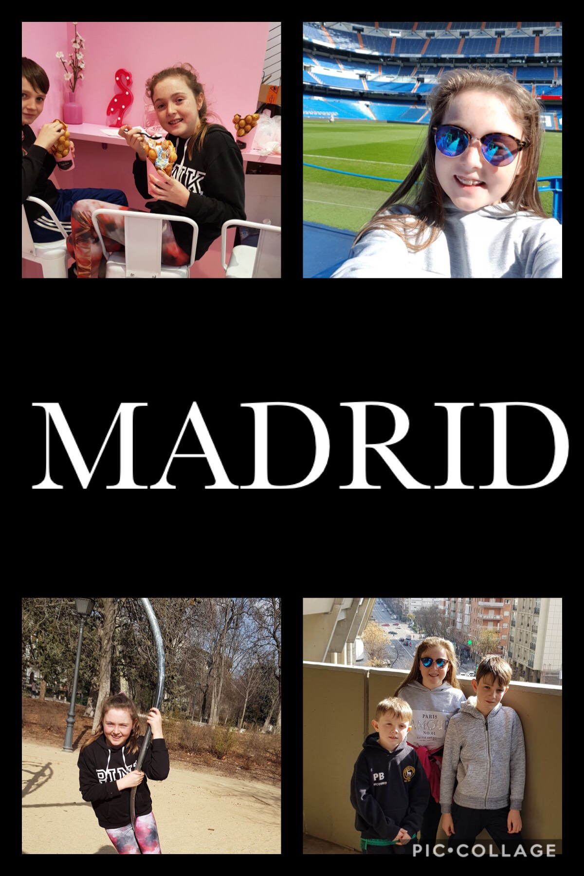 Madrid is such a nice city I hope I will go there again in the future😀😄😆
