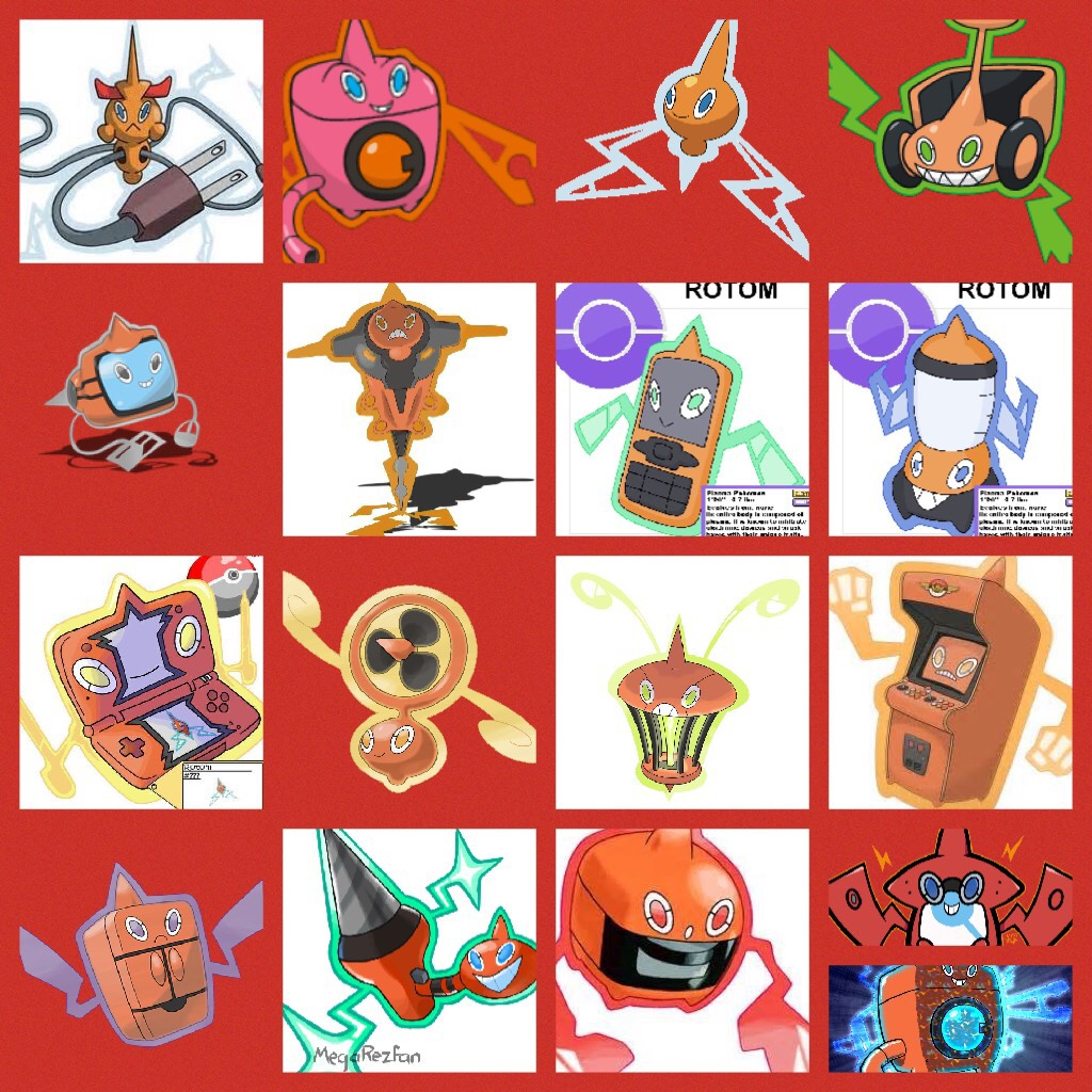 Rotom is cool because it can take form of any electronic device