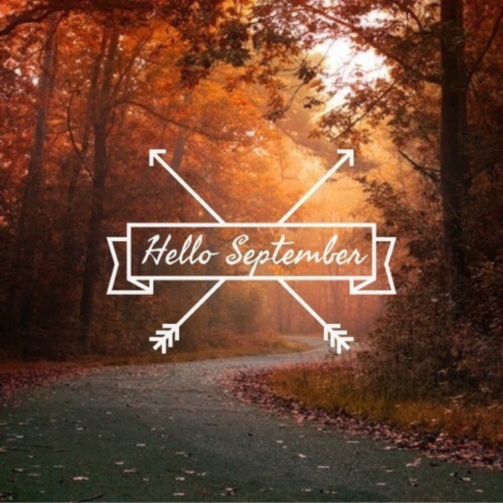 🍁tap🍁  Wow, August went by quickly   It's already September 1st.  But I don't start school until September 7th
