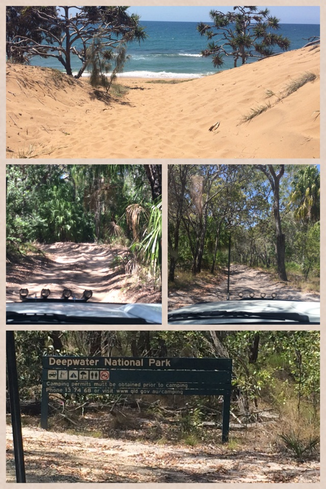 Some 4x4 driving to some secluded beaches