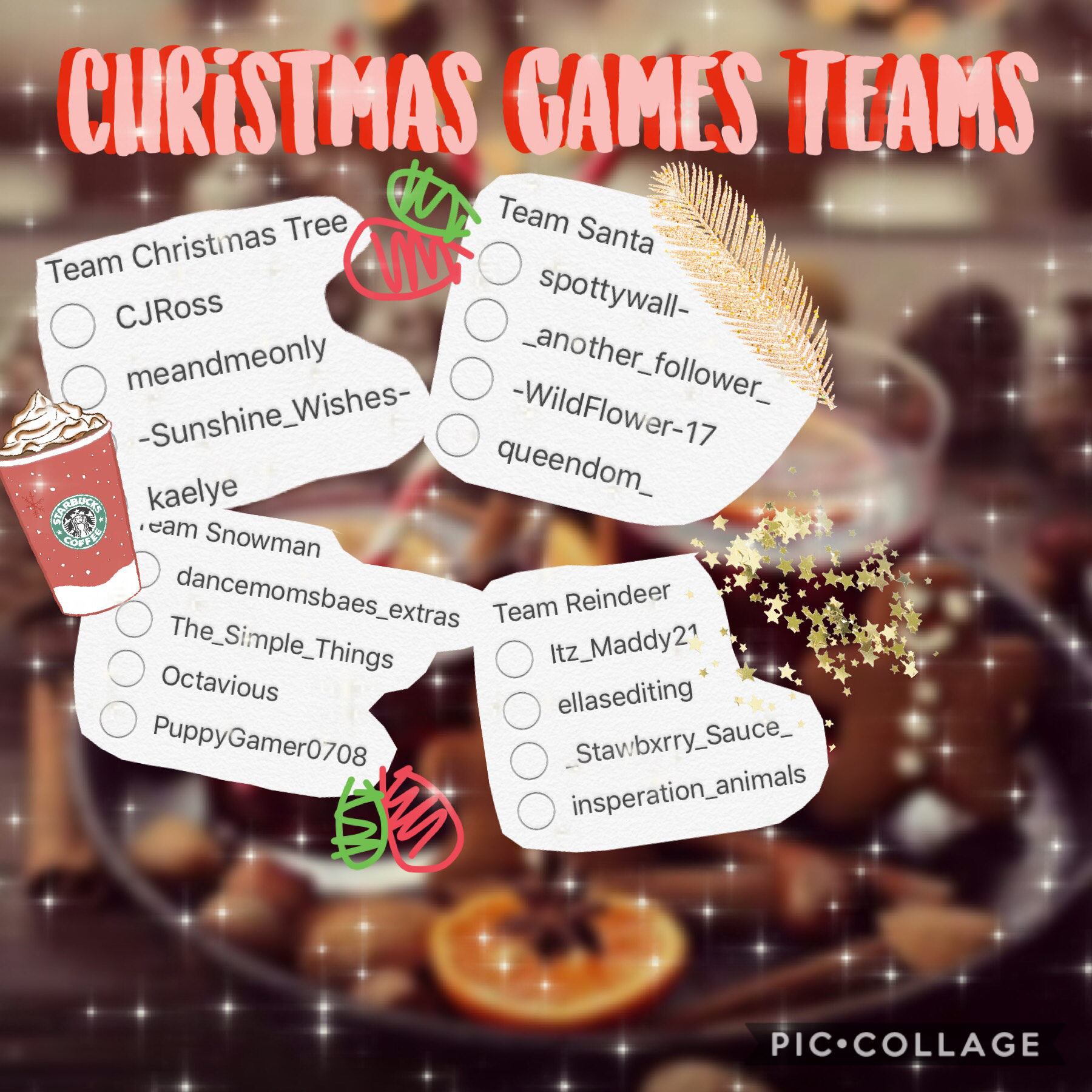 Christmas Games Teams 🎄