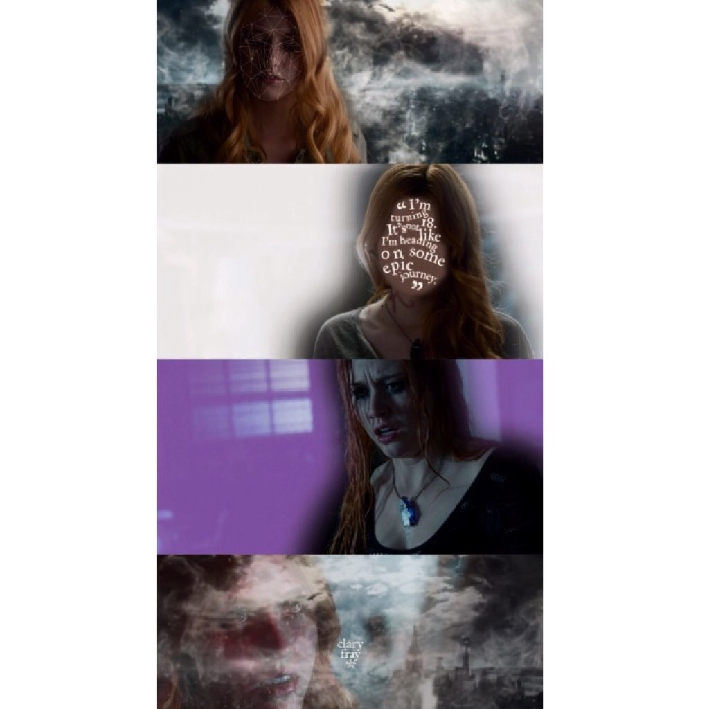season 1 episode 1 — the mortal cup ➰ thoughts on this? it's something different and I'm not sure how much I like it.  q// favourite shadowhunters character? a// simon, clary, and izzy 💜