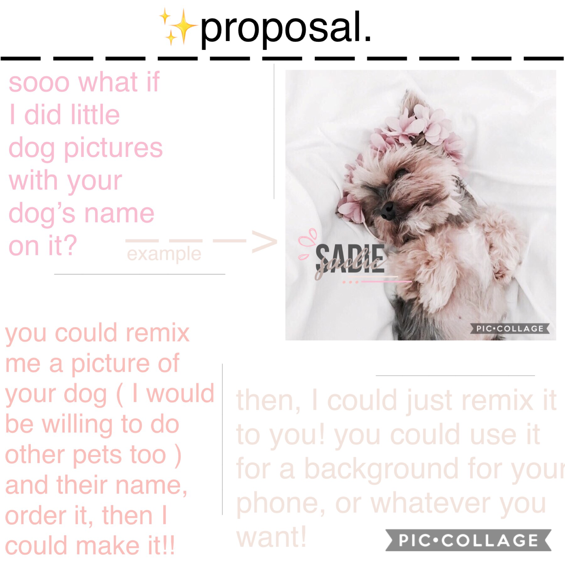 tappy🥰  if you want to order one, remix a picture of your dog below, comment your dog's name on that remix, and you'll receive it in less than a week!💓💓