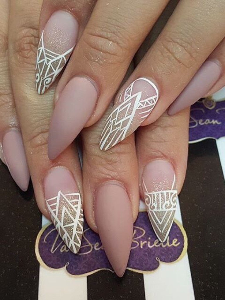 61 acrylic nails designs for summer 2019 style easily - HD 768×1024