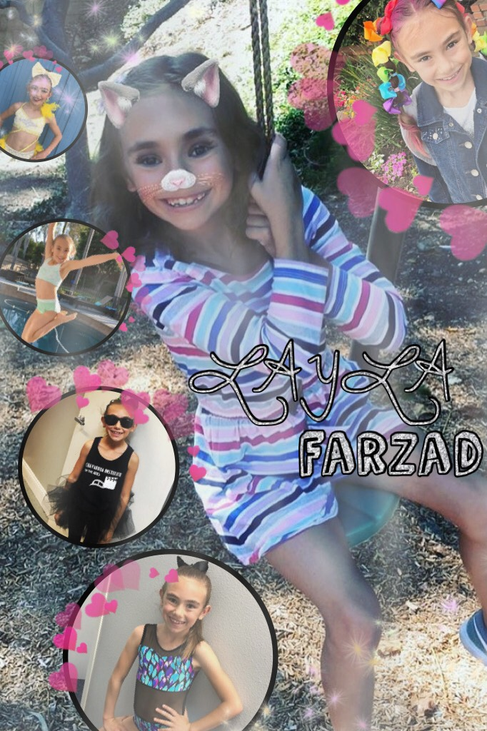 Tappy Layla Farzad edit This chick is always so positive and happy Just watching her makes me happy Love you baby girl😘
