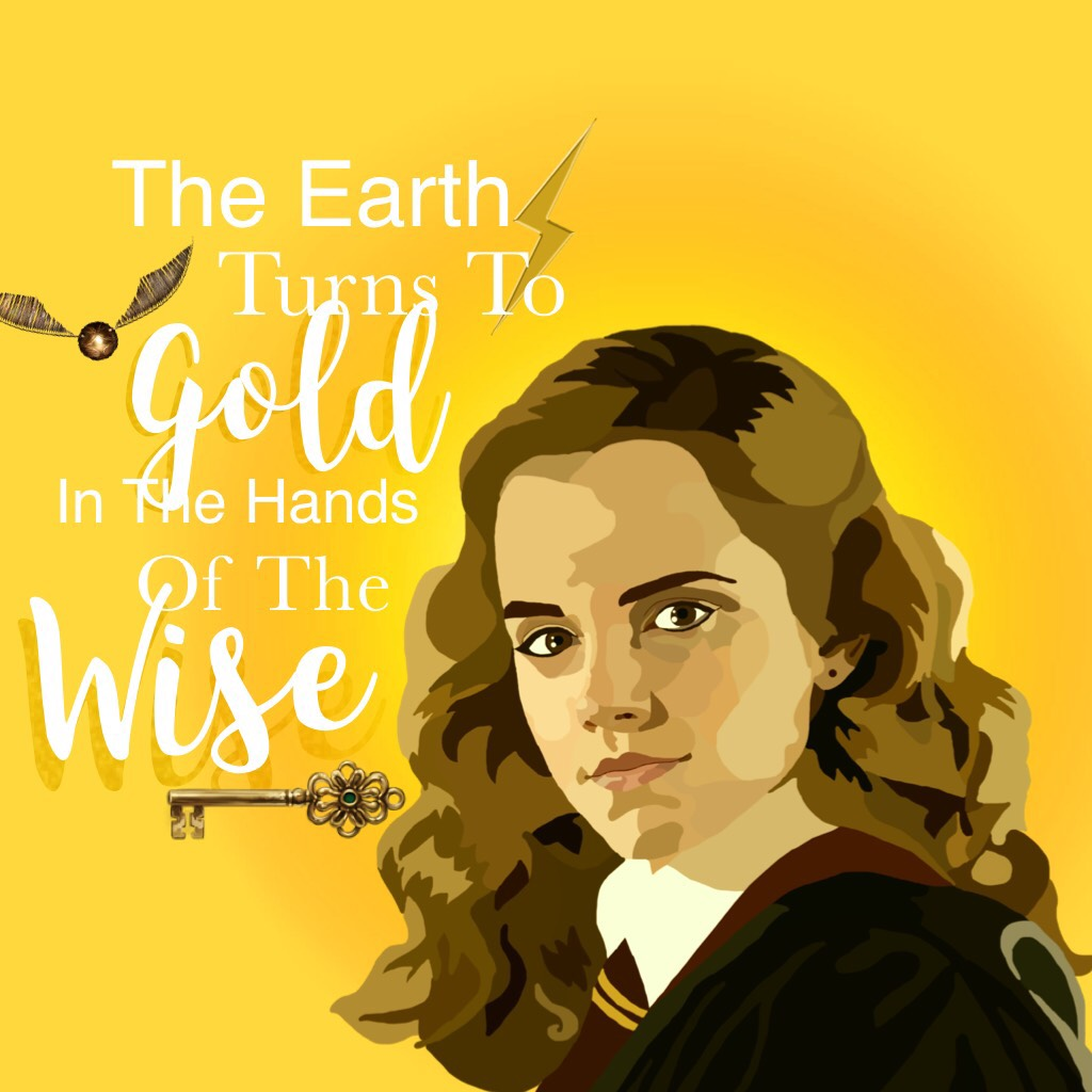 Hermione is a goddess don't @ me