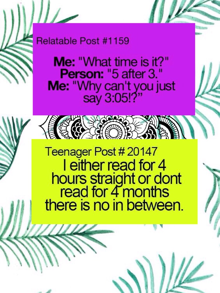 I find these relatable, don't you?