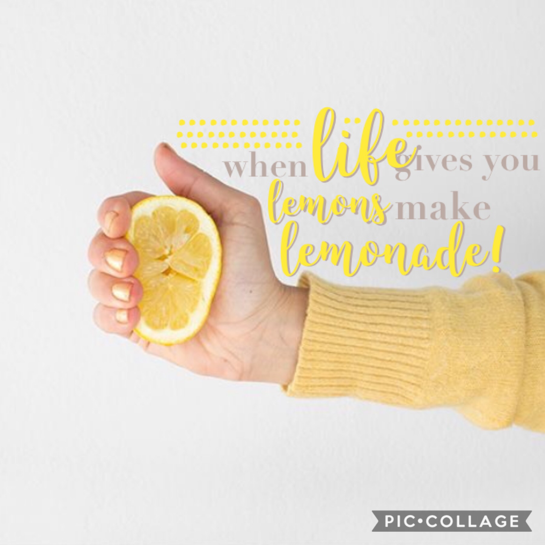 new theme. when life gives you lemons, make lemonade!🍋