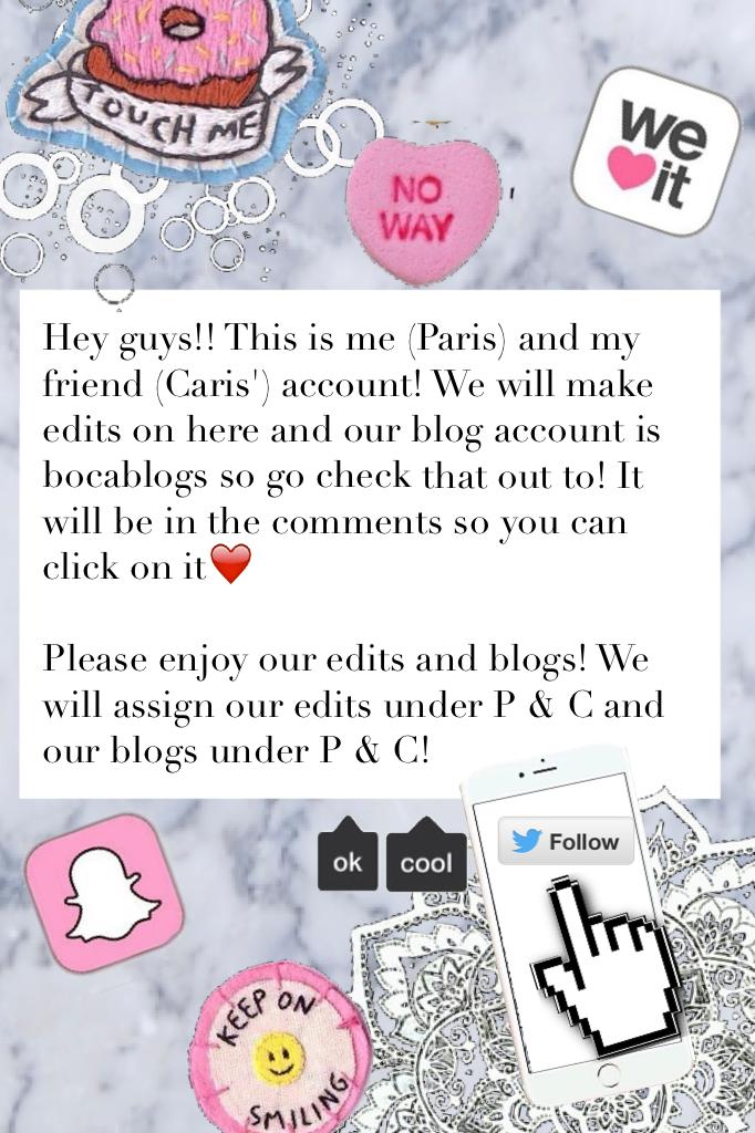 🌸CLICK HERE🌸 Go follow bocablogs