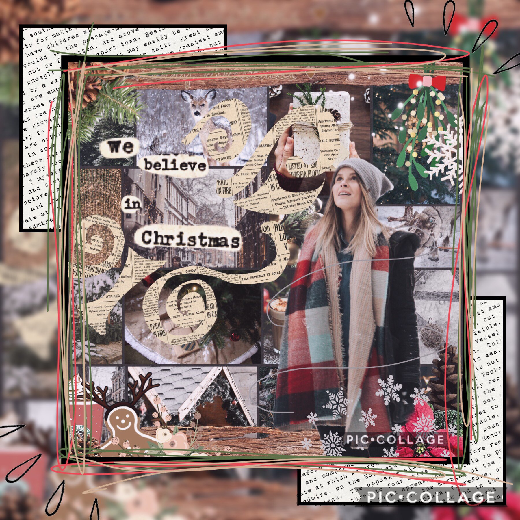 CHRISTMAS!!, I LOVE Christmas soooo much!! 😂😱❤️  This is my entry into Wunderlust's  contest (go enter it!) Have an amazing night everyone!
