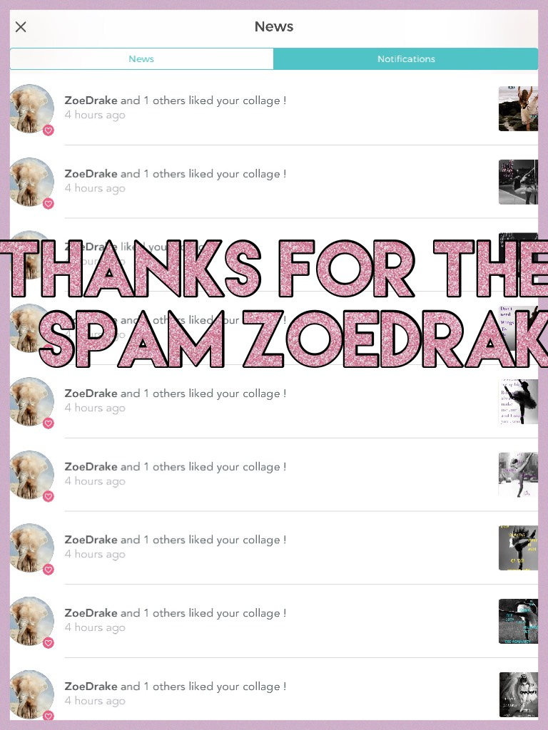 Thanks for the spam ZoeDrak