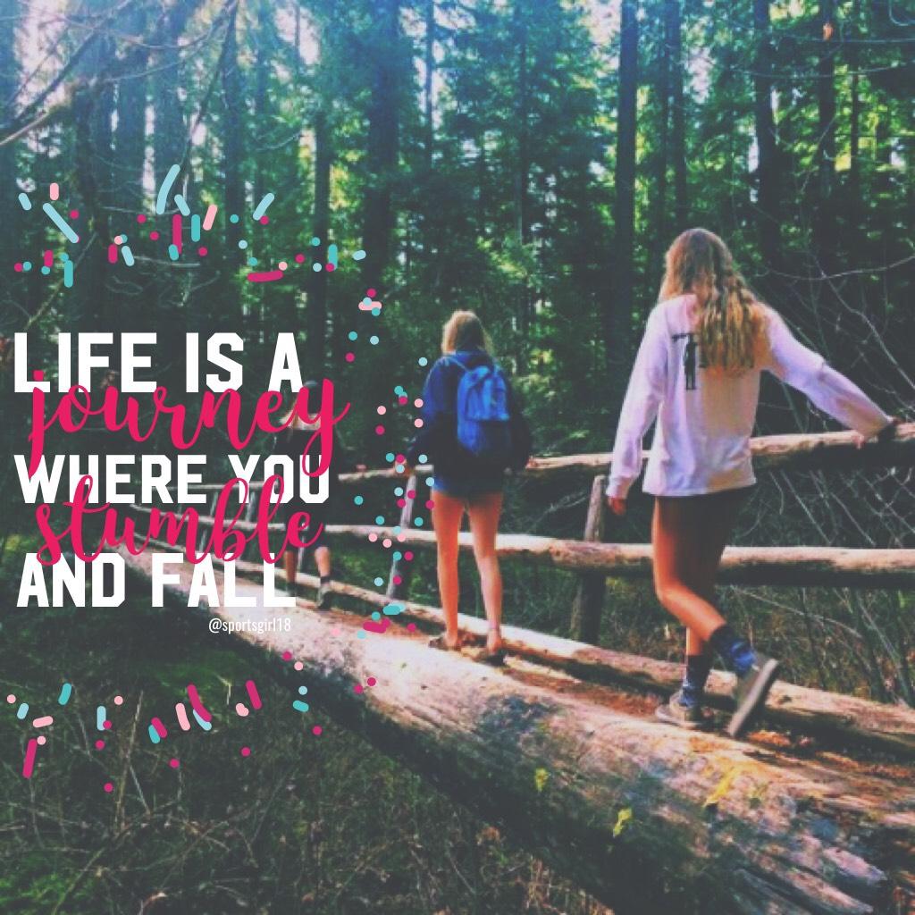 embrace the journey♡//plz like:)