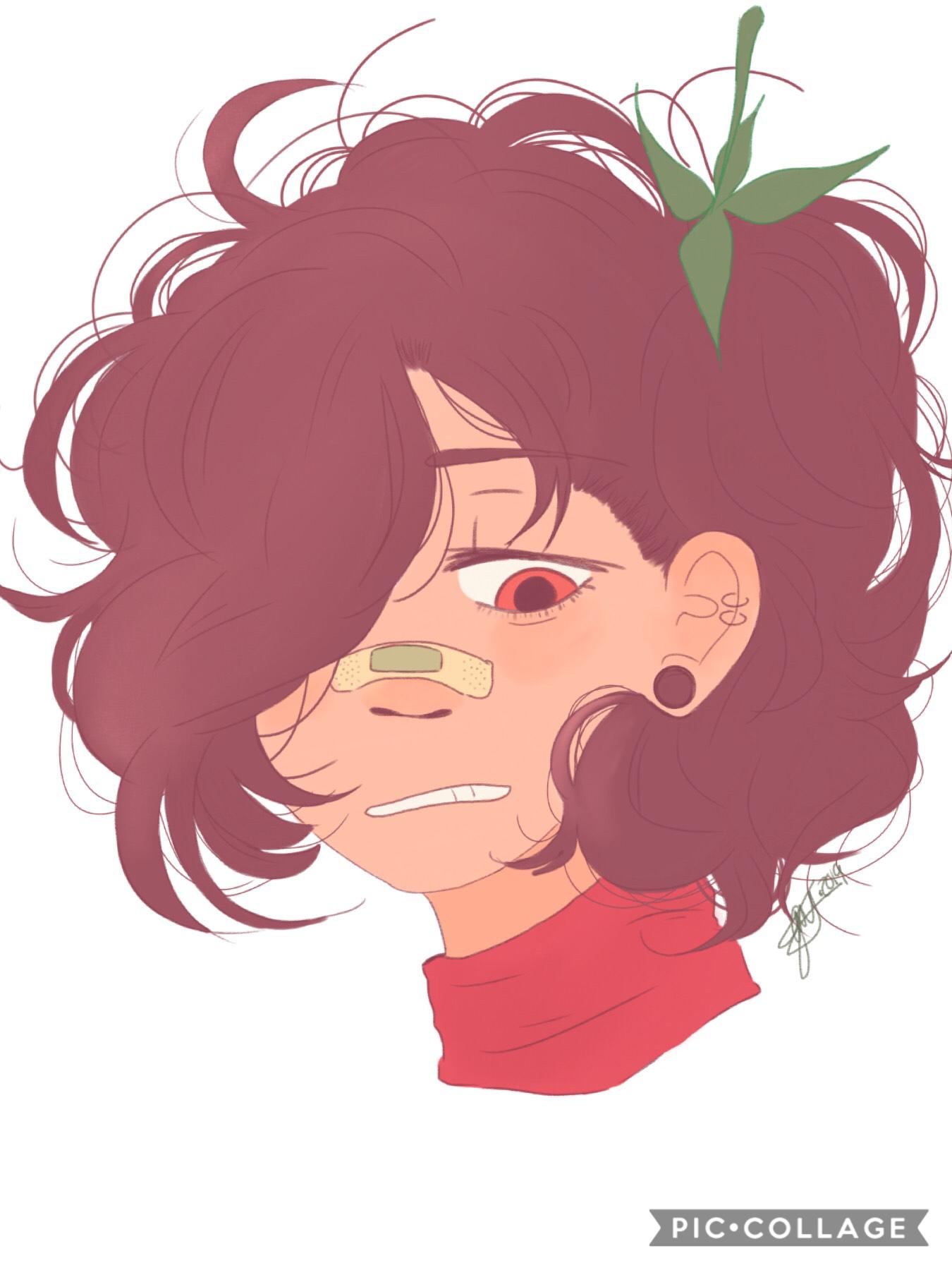 Here's the raging lesbian, Raspberry