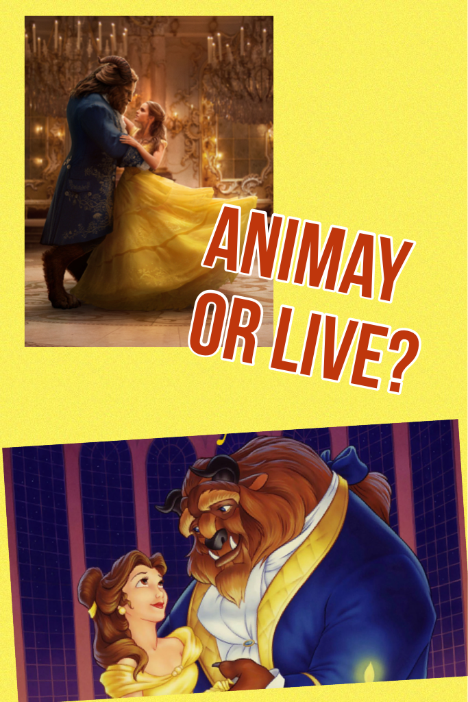 Animay or live?