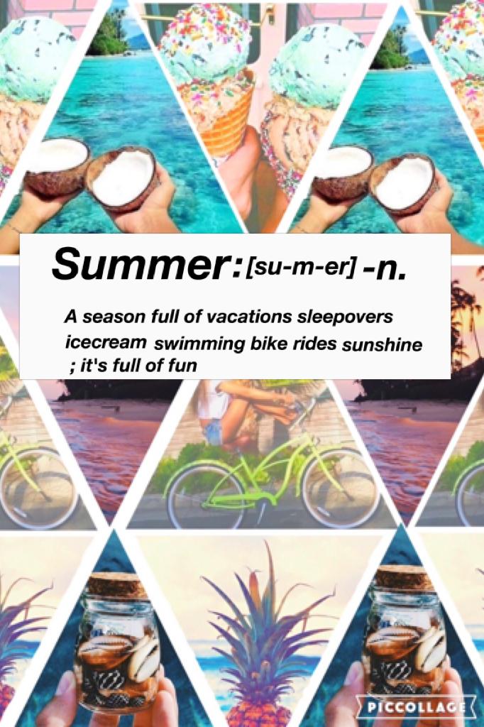 Summer edit