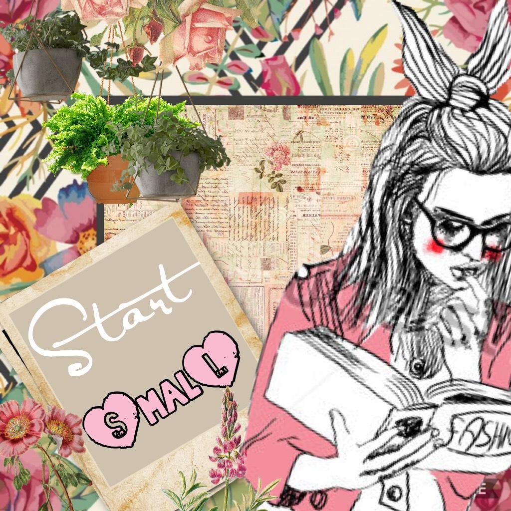 Start Small ▪️◾️◼️⬛️
