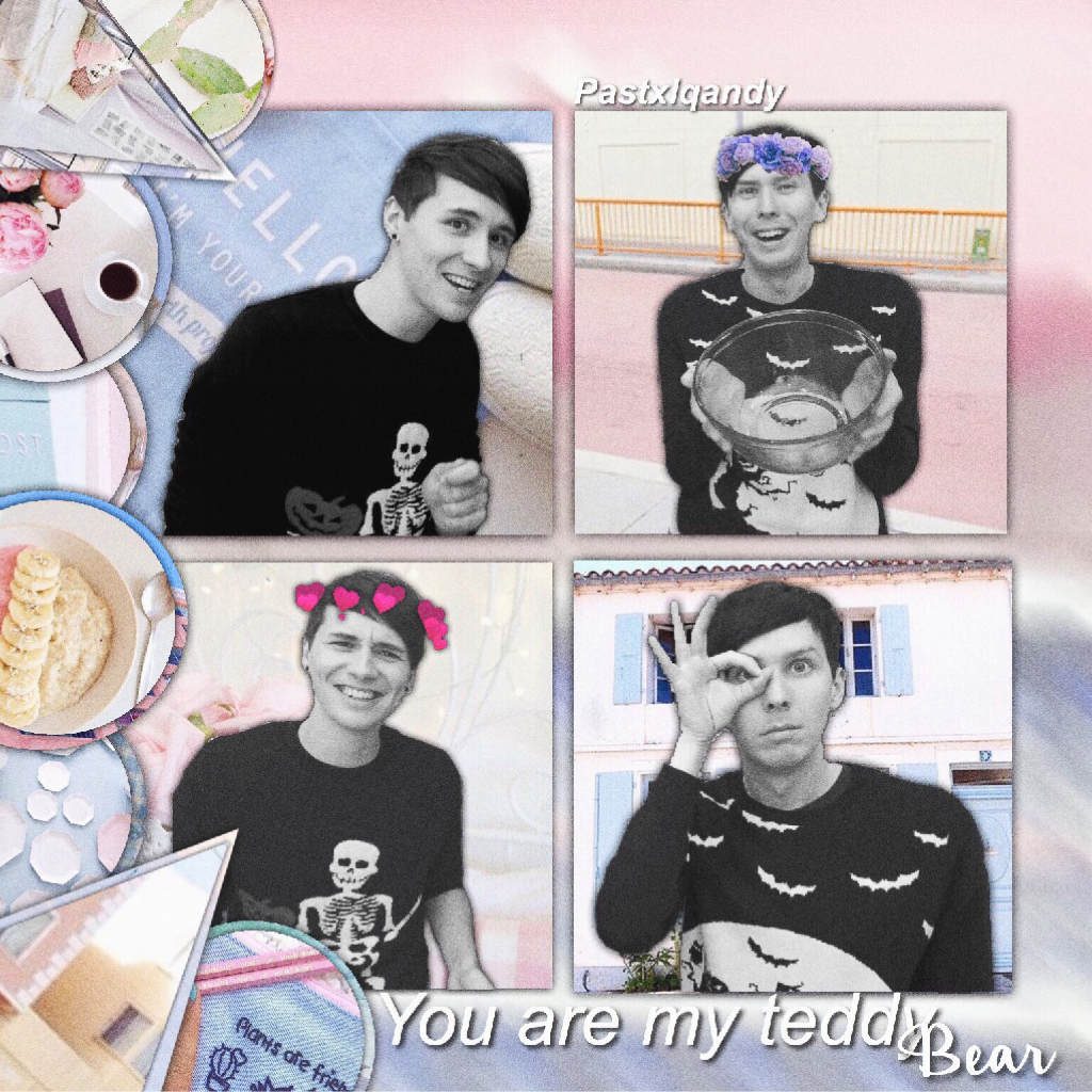 Hey! I hope you like this edit of Dan and Phil!! I'm going to start making edits of people I am a fan of but never made edits of them. ( hope that made sense!)