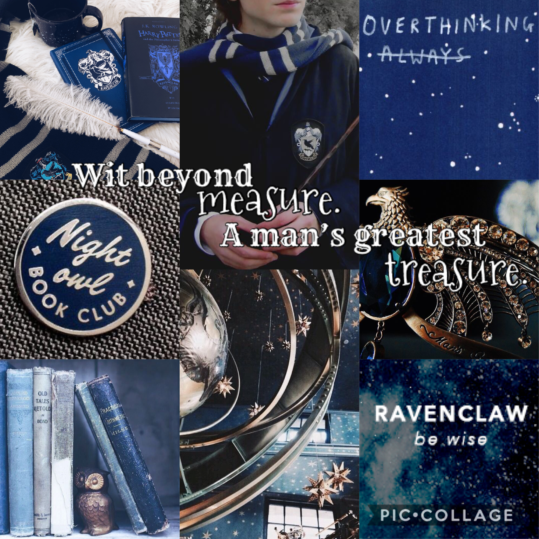 What's your Hogwarts House? I'm Ravenclaw 💙🤍
