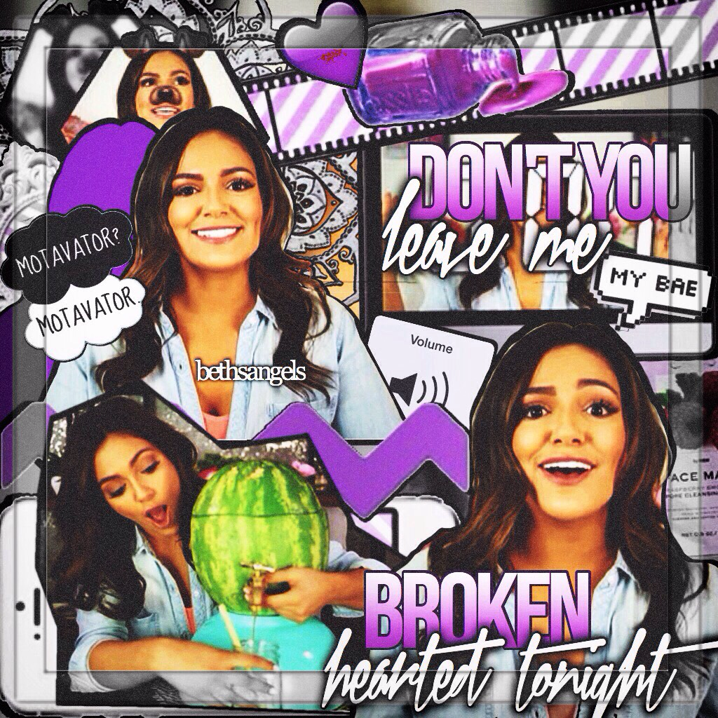 Yesss Beth uploaded😍😍 fun fact: there's a random red swatch of something on the purple heart from who knows what lol