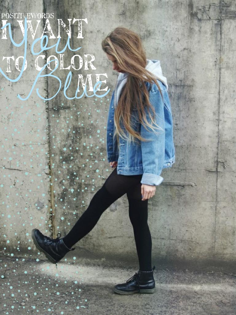 Color me Blue!!💙 Follow my blog acc PositiveWords-Blogs