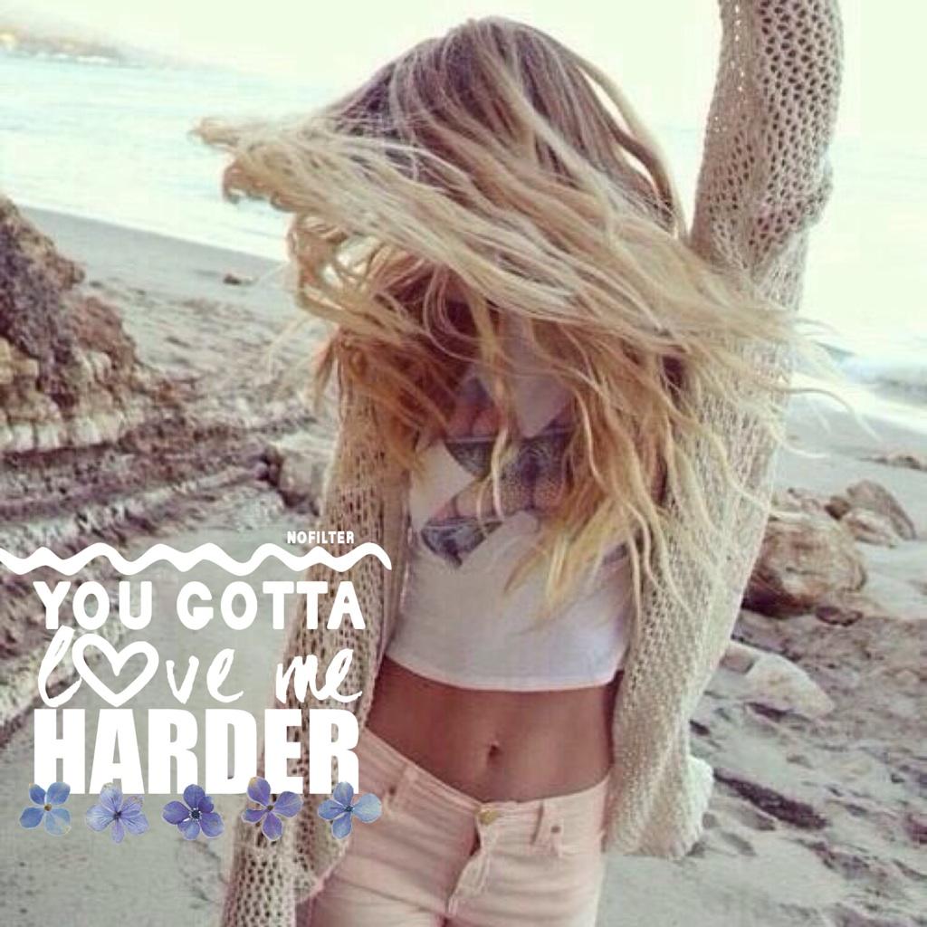 Love me harder by Ari😍👏