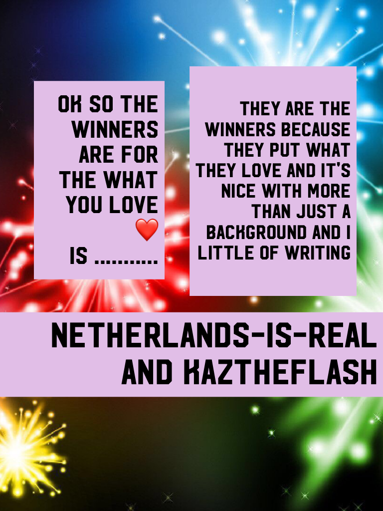 Netherlands-is-real and kaztheflash