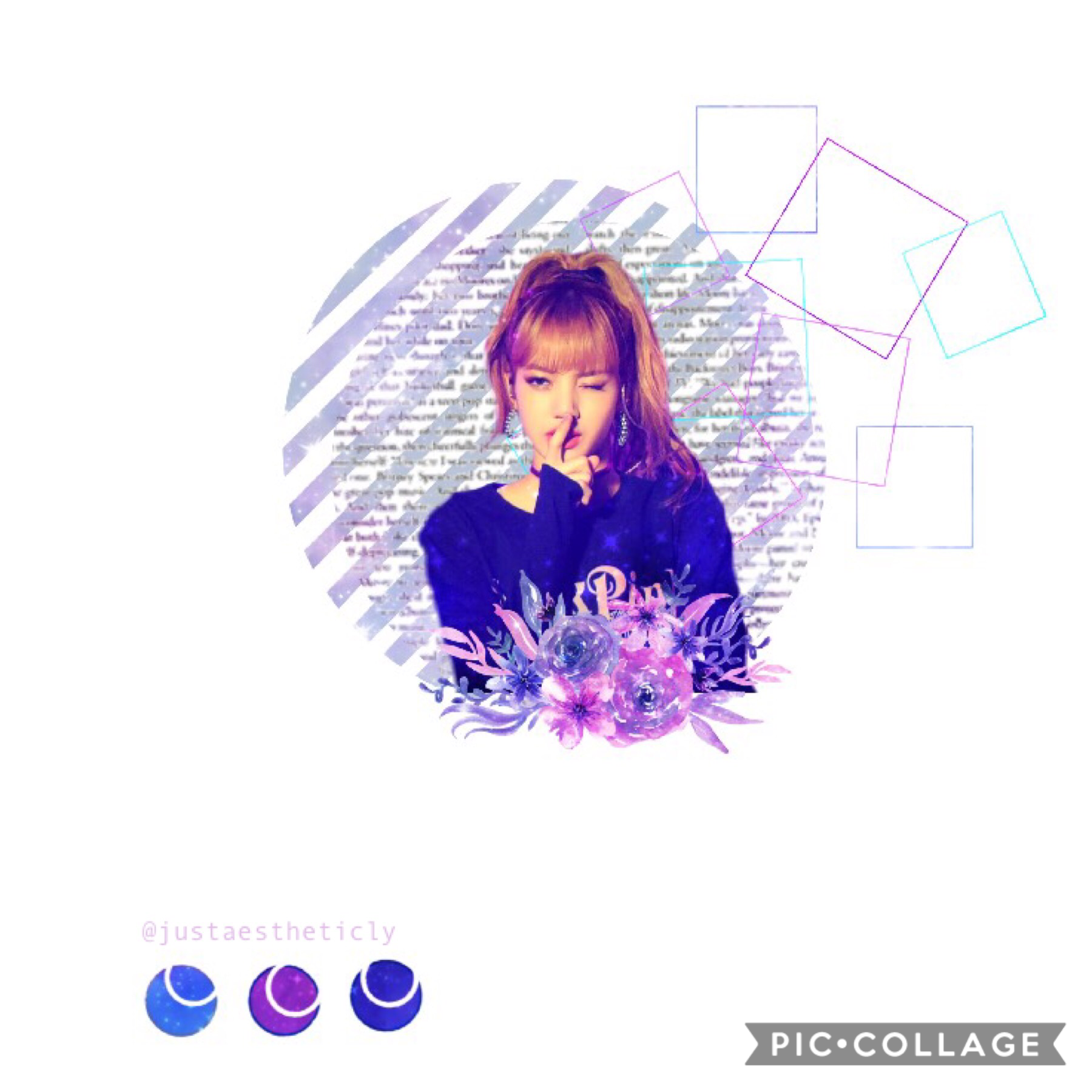 TaP BLACKPINK Lisa Edit I actually like this one lol What bout y'all? Oof I used some PicsArt help  DonT tEll 😂