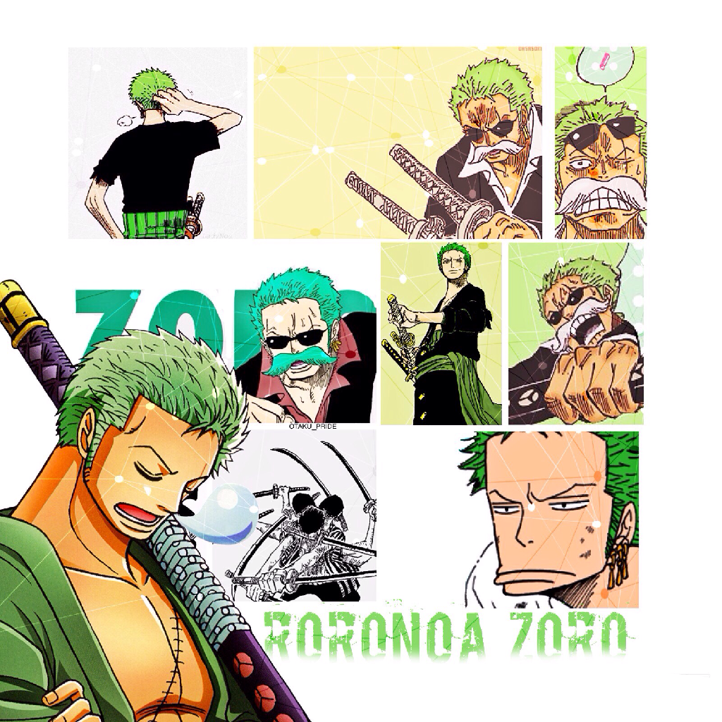 Marimo Head! Love him so much😚 my favorite after Luffy