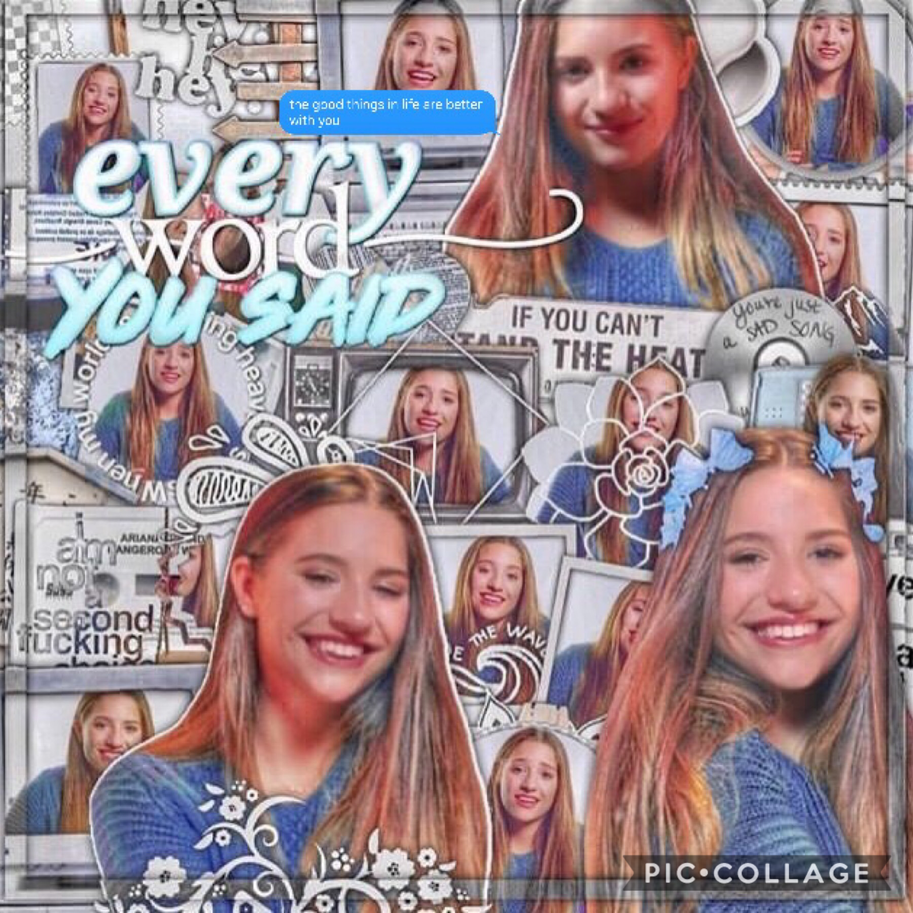 💙Tap💙  Another Mackenzie edit!!! Rate 1-10!!! Qotd: What is your favorite song by Mackenzie Aotd: Breathe