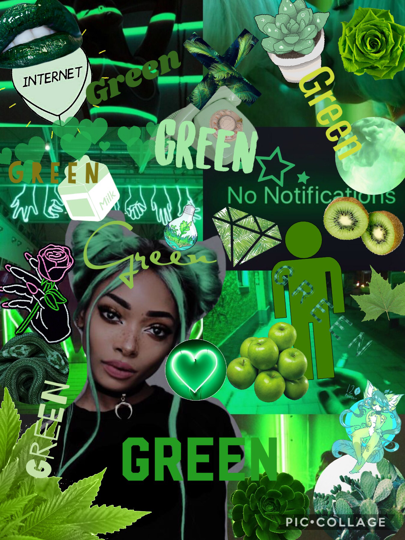 Like if your favorite color is green!