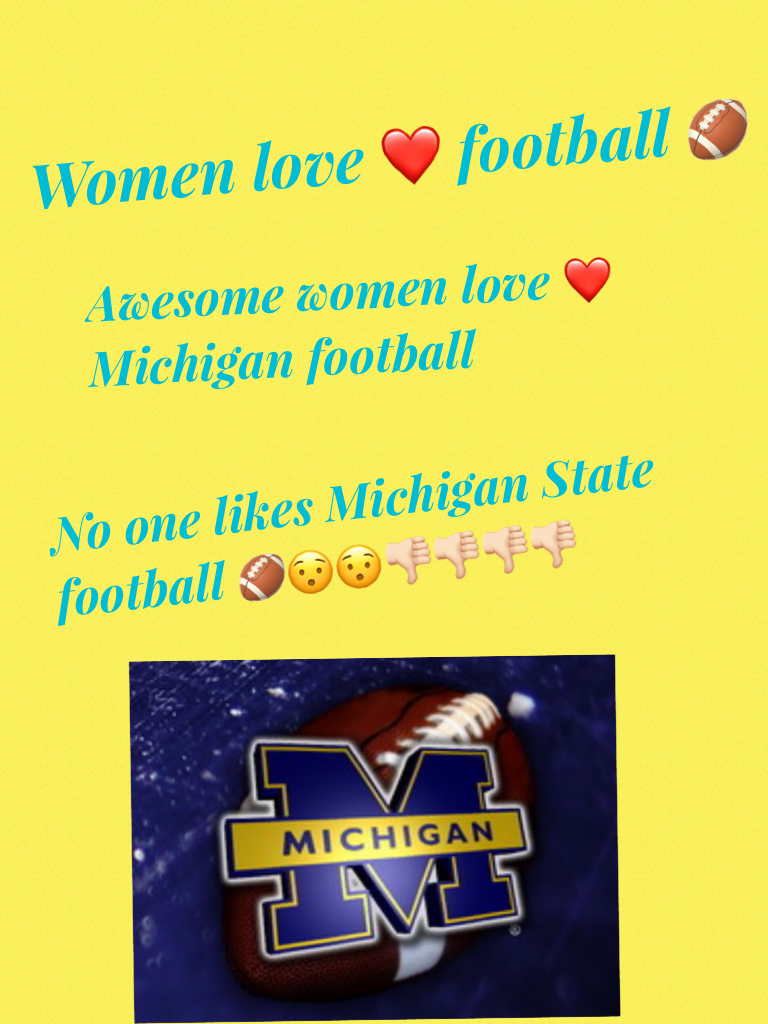 Michigan football is awesome