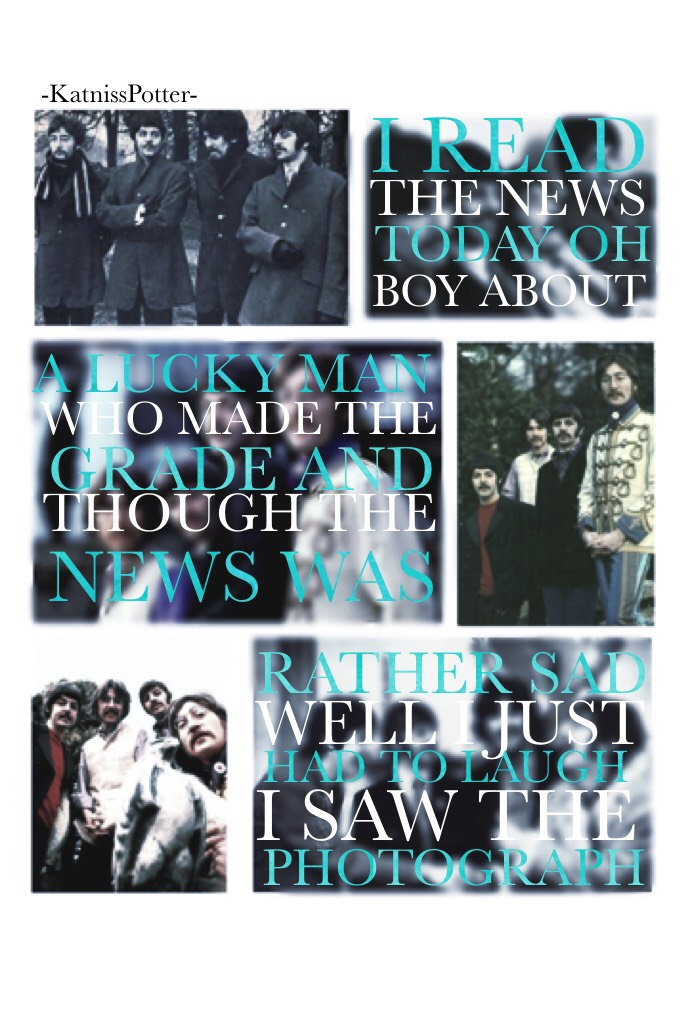 CLICK Another Beatles phase has come over me. I just keep finding more and more of their music that I like🎶❤️ #featuremyfandom ❤️⚡️🏹❤️