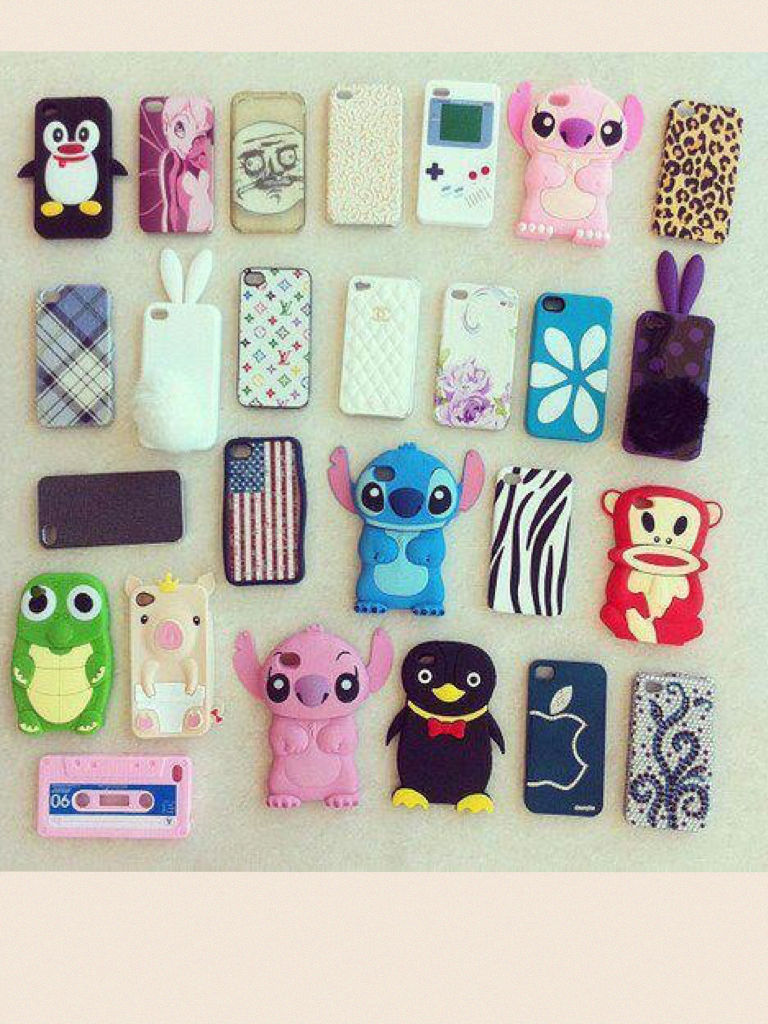 Pic your favourite phone case!