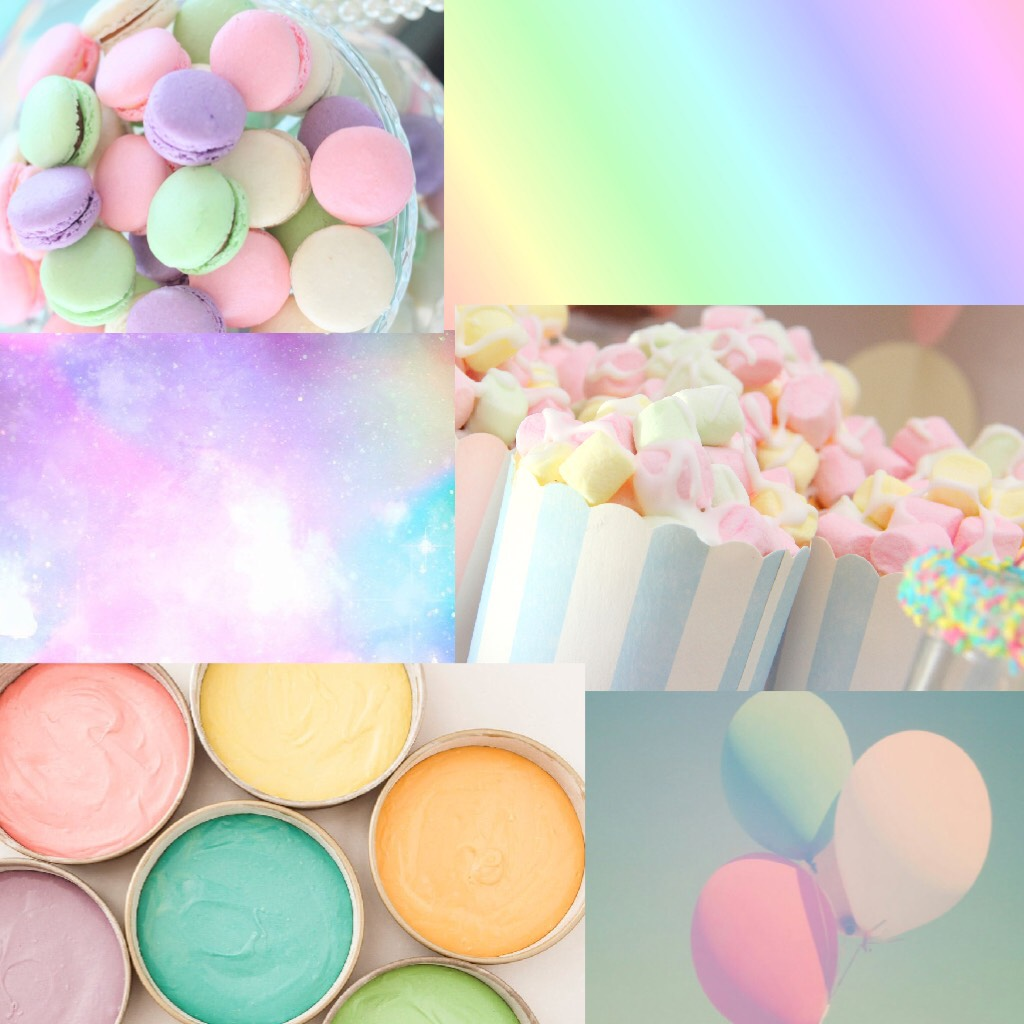 Pastel Themed Collage 💖💖💖