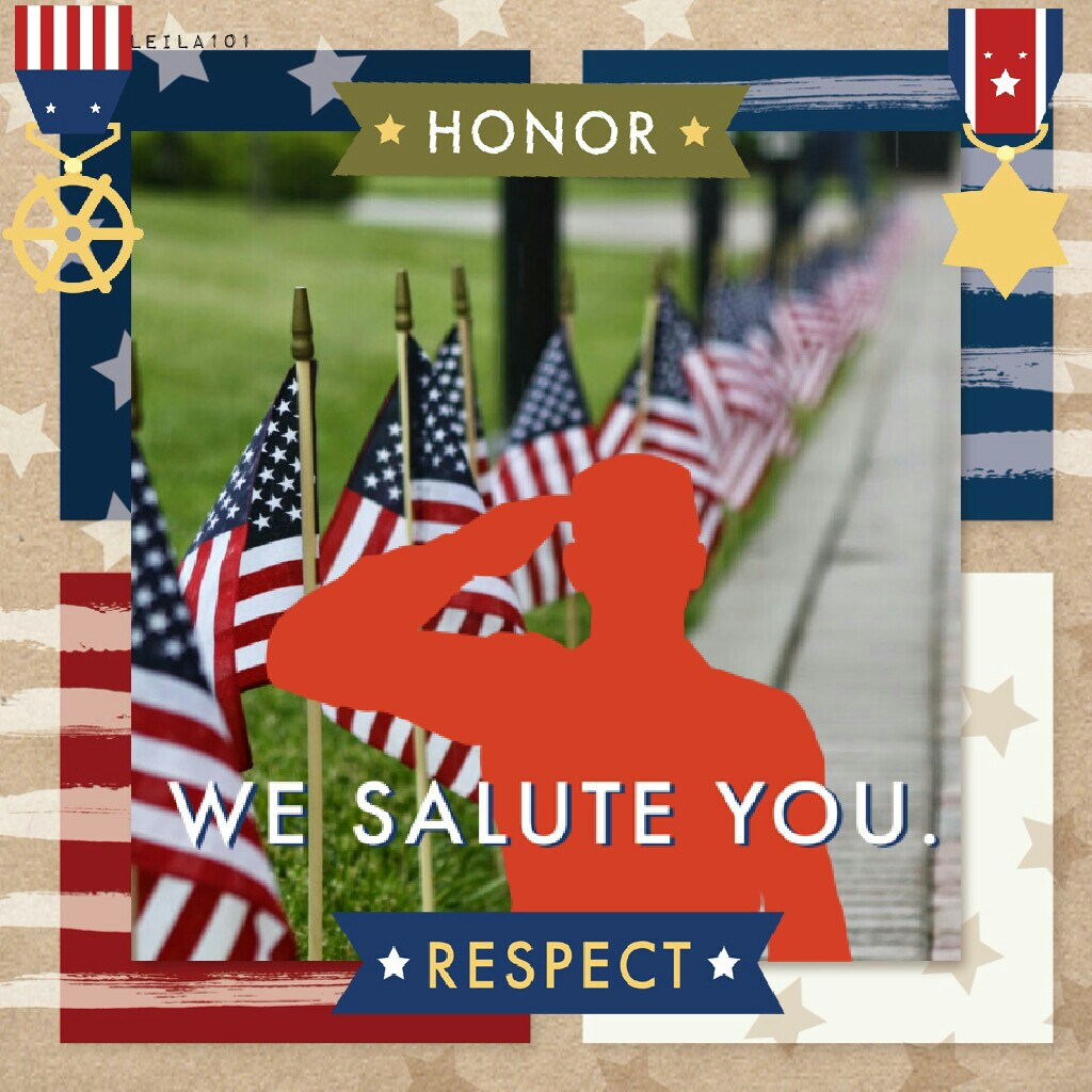 """For those who fought for those who could not"" - Happy Memorial Day   Tags: Pconly collage stickers love memorial day stickers collage soldier #memorialday 2017 PicCollage Leila101 American template"