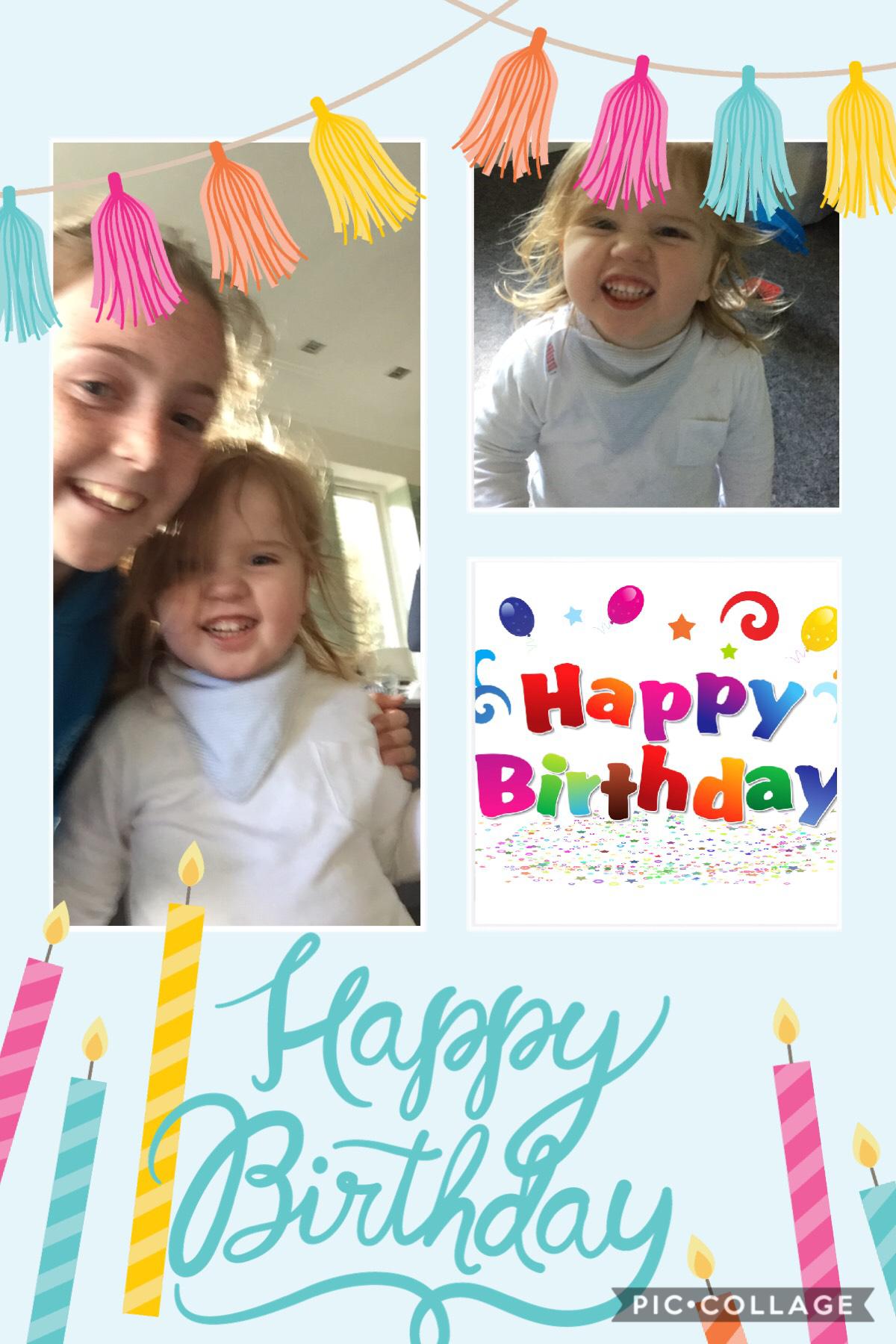 Happy birthday Cole