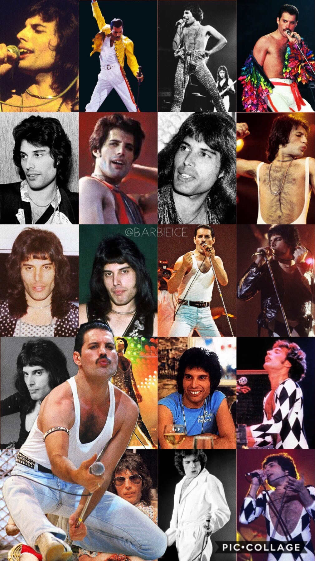 the beautiful and legendary Freddie Mercury❤️