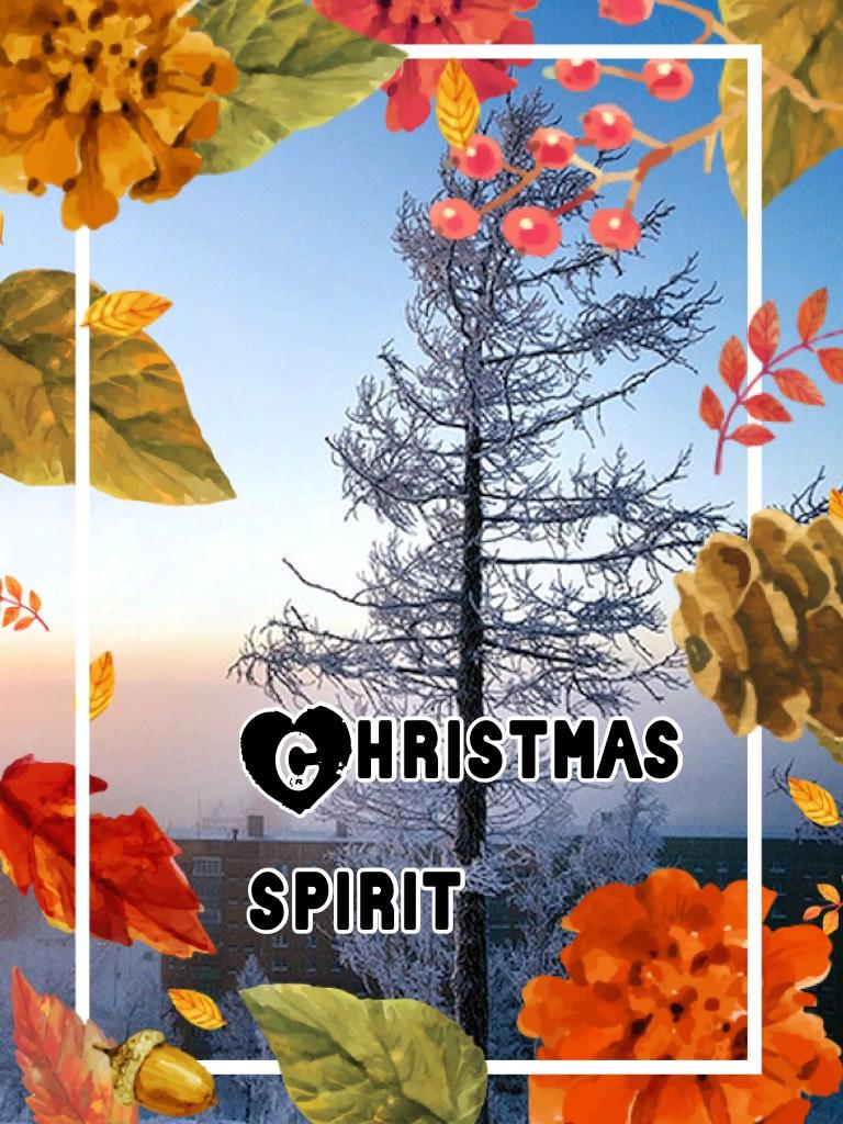 Thanksgiving spirit