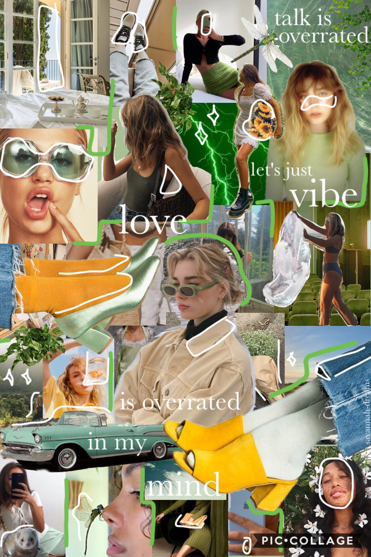 heyyyooo 👋🏼 finally a collage i'm excited to post!!!!!!!!! currently journaling 🌿🧚🏼♀️ lyrics from 'talk is overrated' by jeremy zucker 🥑🦦 so rainy and only abt 12 degrees C over here 🌧 gonna try to do quality over quality for future collages ✌🏼check remi