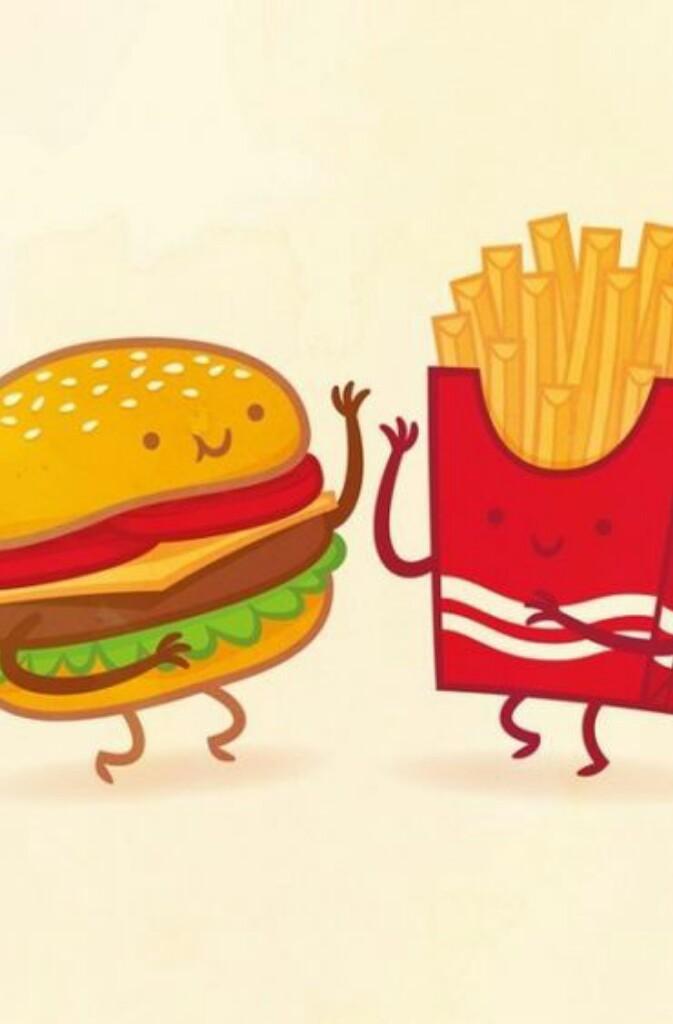 рисунки смешная еда инструкция, том, как